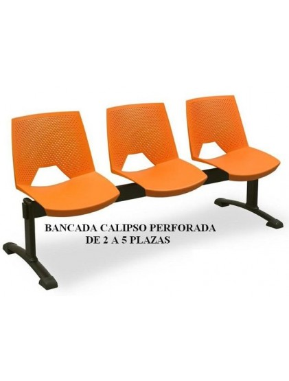 BANCADA CALIPSO PERFORADA