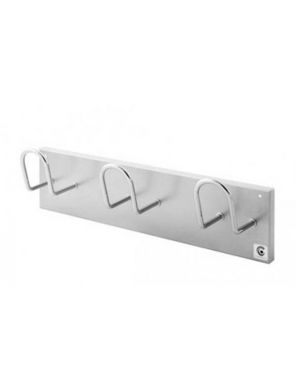 PERCHA DE PARED DE 3, 4, Y 5 COLGADORES