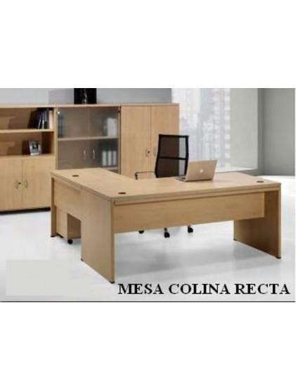 MESA COLINA RECTA, IVA INCLUIDO.